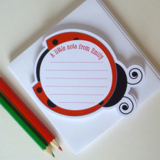 Ladybird notelets (set of 12)