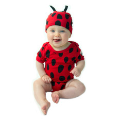 Ladybug baby two piece set