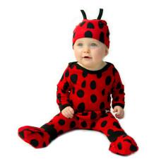 Ladybug baby four piece set