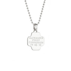 Lauren personalised sterling silver pendant