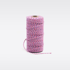 Lavender, pink & white bakers twine