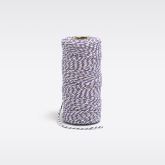 Lavender & white bakers twine