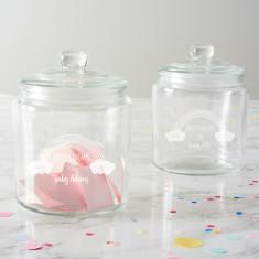 Personalised Rainbow Baby Shower Jar