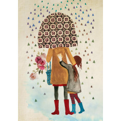 Rainy day women 2 limited edition print