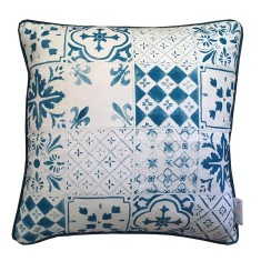 Tiles cushion cover (European size)