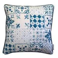 Tiles cushion cover (European size)