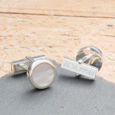 Personalised Gemstone Cufflinks