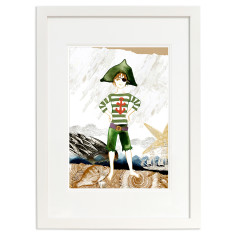 Pirate Marcello open edition print