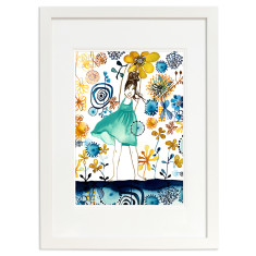 Summer Jasmin open edition print