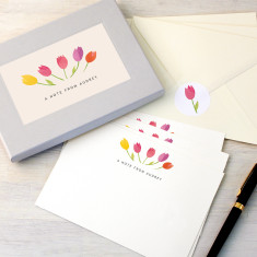 Tulips Writing Set