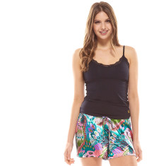 Tropics Short In Bag Green & Black