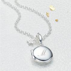 Personalised Small Diamond Lulu Locket