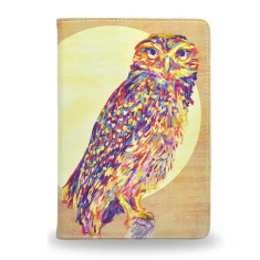 Watercolor Owl iPad Mini 4 Tablet Folio Case