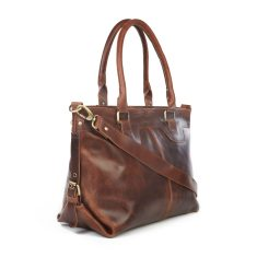 Lichfield Leather Buckle Tote