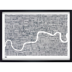 Bold & Noble London type map