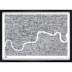 Bold & Noble London type map