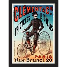 Tricycles 1890 Print
