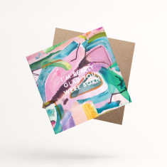 I'm Really Glad You Were Born Greeting Cards (Pack of 3)