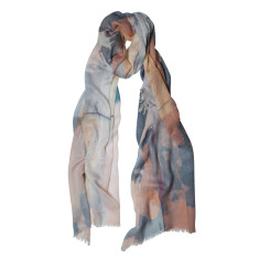 Travellers tale print scarf