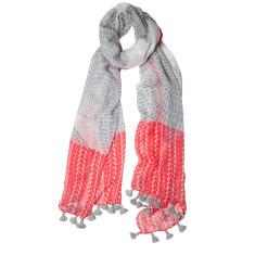 Spring fling tassled scarf (various colours)