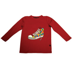 Lego sandshoe long sleeve t-shirt