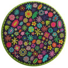 Les fleurs pocket mirror