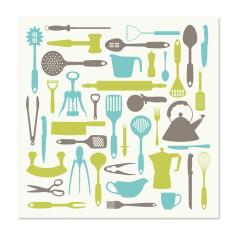 Let's cook greetings card