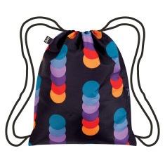 LOQI geometric collection backpack