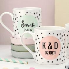 Personalised Colour Pop Mug