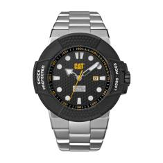 CAT Shockmaster series watch in Stainless Seel with Black face plus FREE GIFT