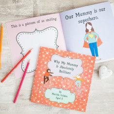 Why my mummy is brilliant personalised book