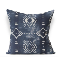 Calpulli Urban Aztec Cushion Cover in Old Grey