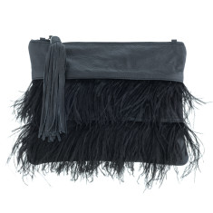 Tilly Black Clutch