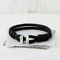 Men's Personalised Initials And Zodiac Symbol Bracelet