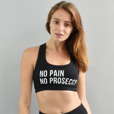 No Pain No Prosecco Sports Bra