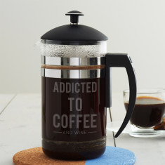 Personalised Addicted To Cafetiere