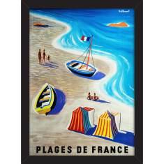 Plages de France Print