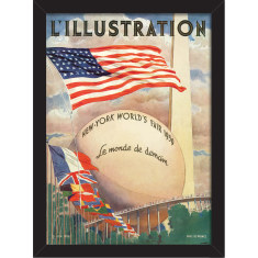 New York World's Fair Print