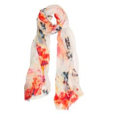 Floral fresh scarf