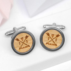 Personalised Design Your Own Cufflinks