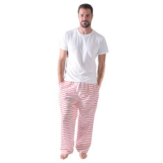 Fire truck men's pj pants