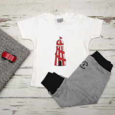 Babies t shirt and pants helter skelter set
