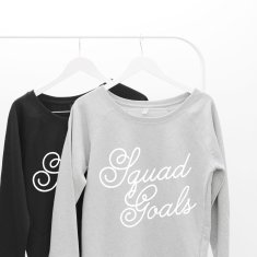 Squad Goals Women's Scoop Neck Sweater