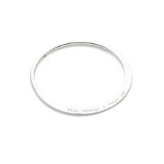 Liesel personlised sterling silver bangle