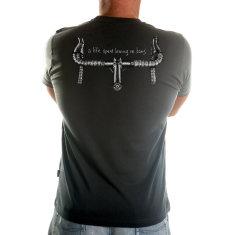 A life on bars men's t-shirt