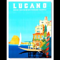 Life In Lugano print