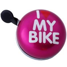 I love my bike Ding-Dong XXL bicycle bell