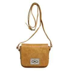 Lille buckle bag in honey