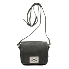 Lille buckle bag in licorice