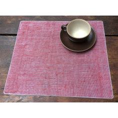 Modern Twist linen look silicone placemat